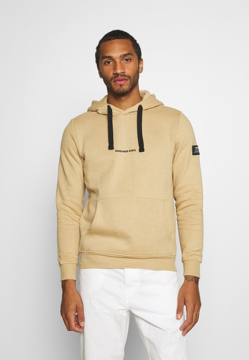Redefined Rebel - ALFRED - Hoodie - travertine