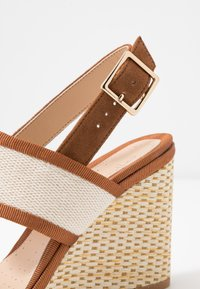 Clarks - IMAGE WEAVE - High heeled sandals - tan - 2