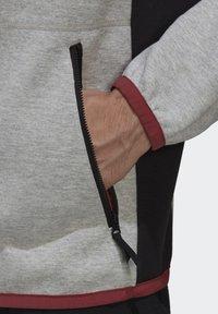 adidas Performance - Zip-up hoodie - grey - 4