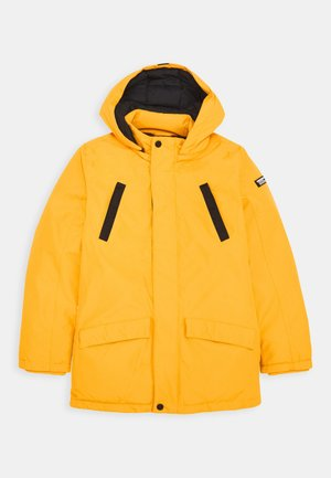 TJAN - Winter coat - warm yellow