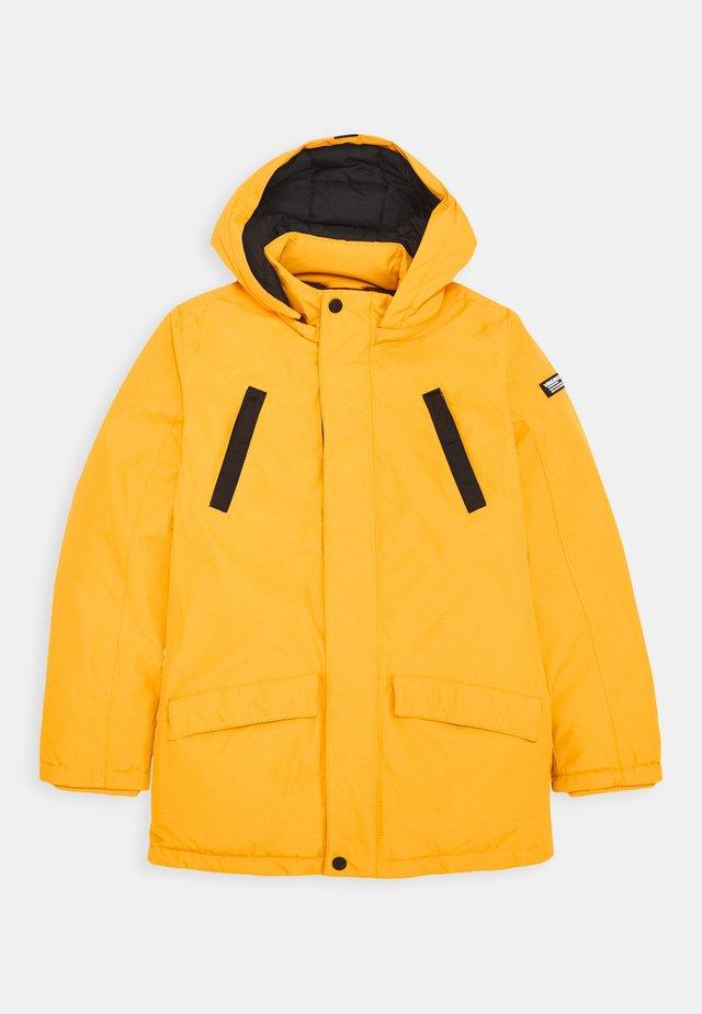 TJAN - Winter coat - warm yellow