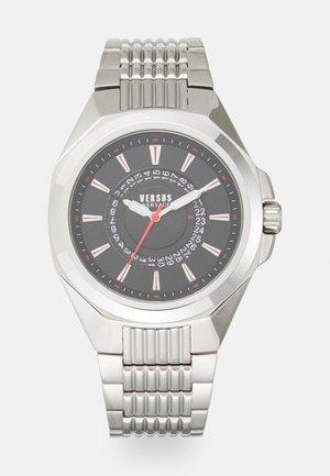 REVO UNISEX - Reloj - silver-coloured/black