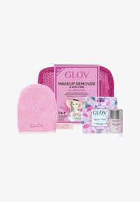Glov - TRAVEL SET - Skincare set - pink - 0