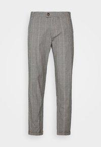 Nerve - DURAN PANTS - Chino kalhoty - grey check - 4