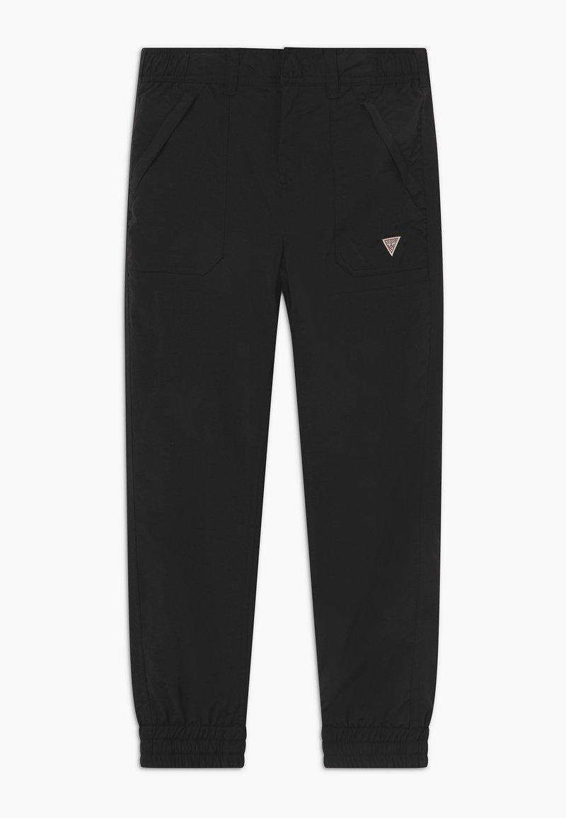 Guess - JUNIOR  - Trousers - jet black