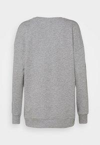 ONLY Play - ONPJARA LONG  - Sweatshirt - medium grey melange/ red orchre - 1