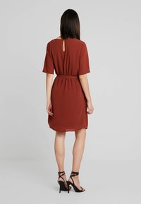 JDY - JDYAMANDA - Day dress - dark red - 2
