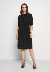 InWear - KARLO DRESS - Vestito estivo - black - 0