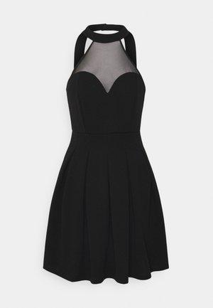 BERNICE SKATER DRESS - Cocktailkjole - black