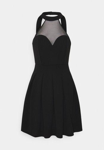 BERNICE SKATER DRESS - Vestito elegante - black