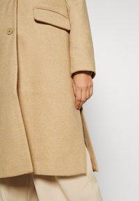 mine to five TOM TAILOR - COAT BASIC - Klasický kabát - warm sand melange - 6