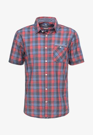CHECK PACKAGE SHIRT - Shirt - blue/red