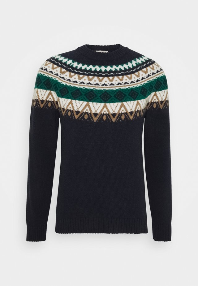 NORWEGER - Jumper - navy