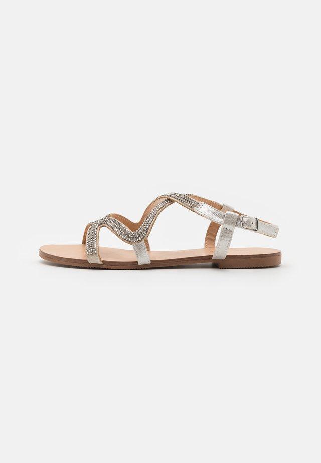 NAIMI - Sandals - silver