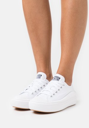 CHUCK TAYLOR MOVE PLATFORM - Baskets basses - white