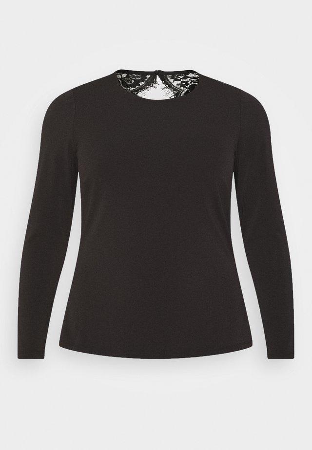 VMANA - T-shirt à manches longues - black