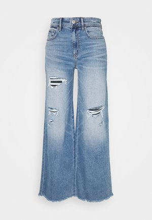 WIDE LEG - Jeans straight leg - starry bright