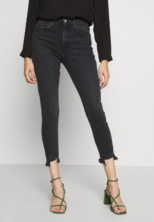 JAMIE JAGGED - Jeans Skinny Fit - washed black