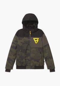 Brunotti - KEATON BOYS - Snowboardová bunda - pine grey - 0
