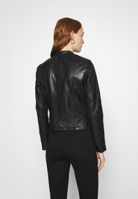 Gipsy - LASTAV - Leather jacket - black - 2