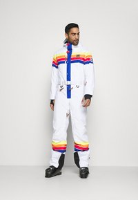 OOSC - RICKY BOBBY UNISEX FIT - Snow pants - white - 0