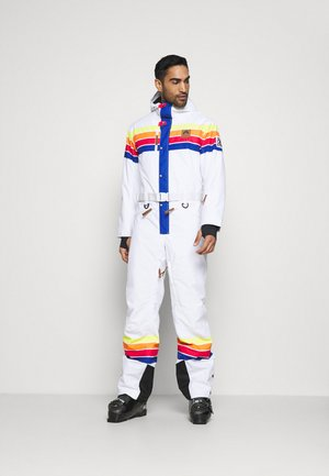 RICKY BOBBY UNISEX FIT - Snow pants - white