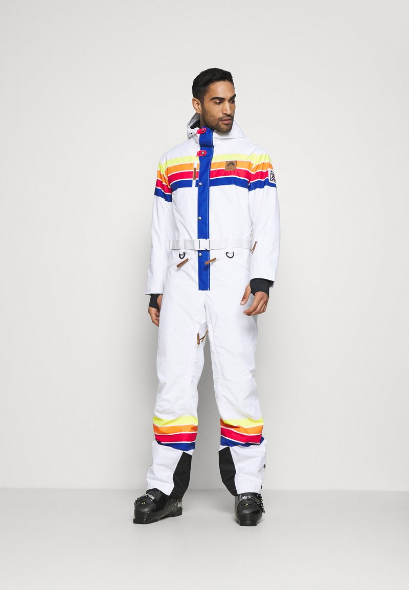 OOSC - RICKY BOBBY UNISEX FIT - Snow pants - white