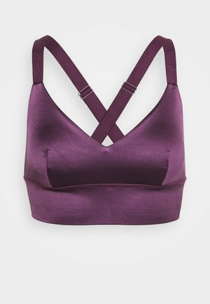 EFFIE BRASSIERE - Sports bra - prune