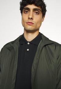 Marc O'Polo - SHORT SLEEVE BUTTON - Polo shirt - black - 3