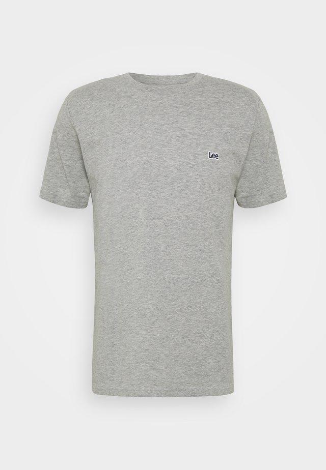 PATCH LOGO TEE - T-shirt basic - grey mele
