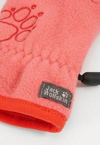 Jack Wolfskin - BAKSMALLA GLOVE KIDS - Handschoenen - coral/pink - 3