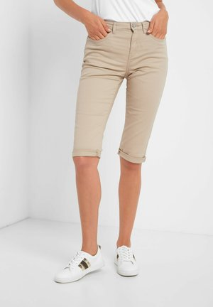 Shorts - beigegrau