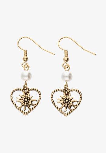 MIT EDELWEISS-DESIGN - Earrings - goldfarben