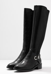 Dorothy Perkins Wide Fit - WIDE FIT KIKKA FORMAL RIDING BOOT - Boots - black - 4