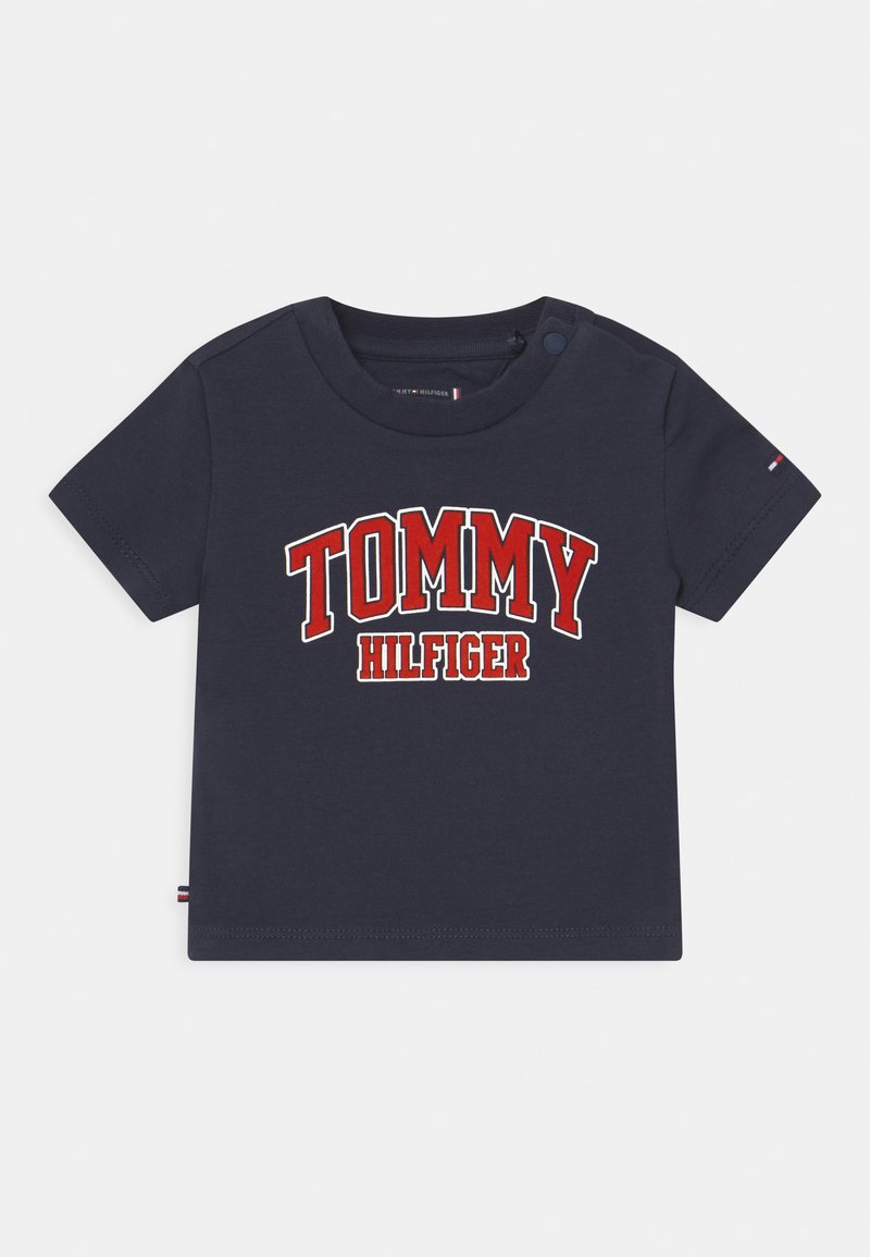 Tommy Hilfiger - UNISEX - Print T-shirt - blue