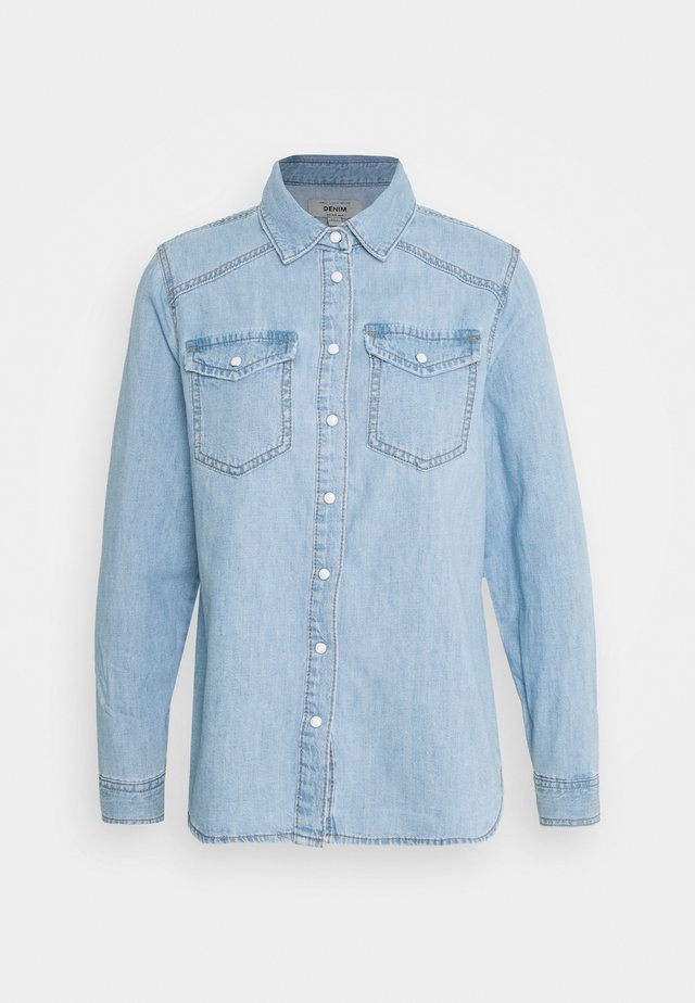 MACI - Button-down blouse - blue