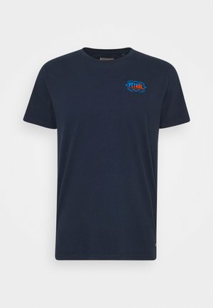 T-shirt med print - dark petrol