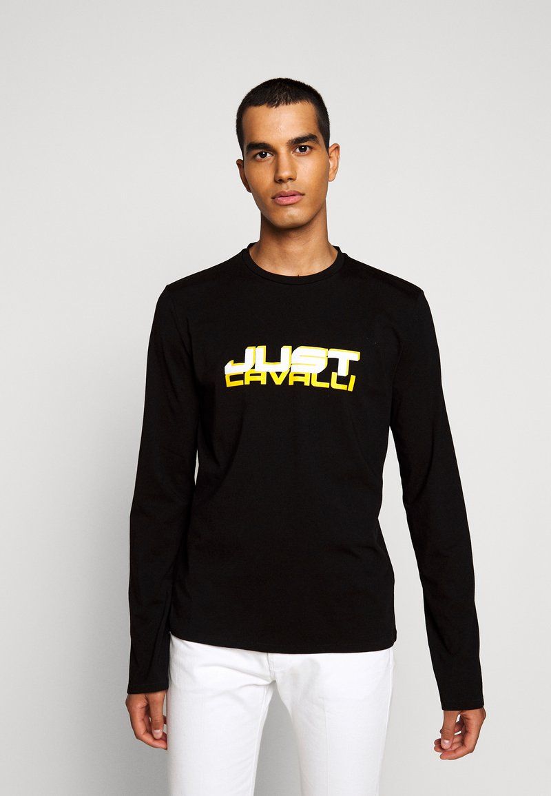 Just Cavalli - Long sleeved top - black
