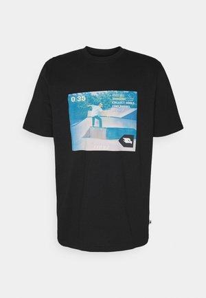 ETHAN UNISEX - T-shirt print - black