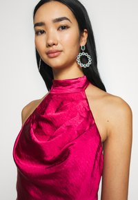 Chi Chi London - CHRYSTA DRESS - Occasion wear - burgundy - 3
