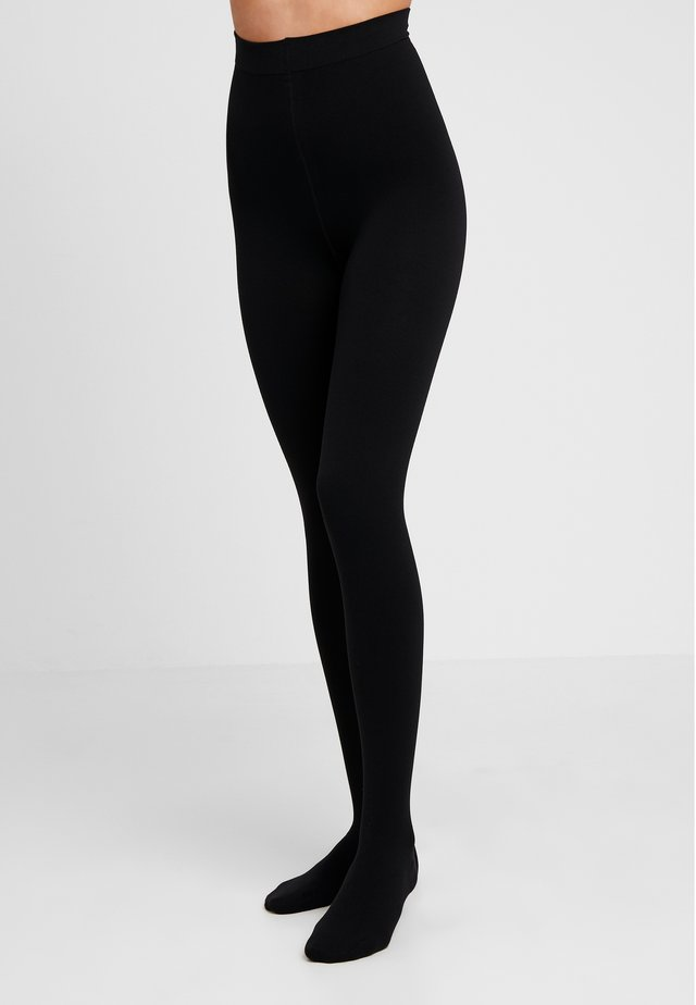 100 DEN ITEM WOMAN TIGHTS COSY WINTER  - Strømpebukser - black