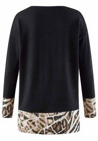 Alba Moda - Sweatshirt - schwarz beige braun off white - 2