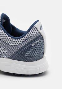adidas Golf - ALPHAFLEX SPORT - Golf shoes - footwear white/tech indigo - 5