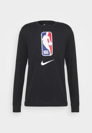 NBA LONG SLEEVE - Long sleeved top - black