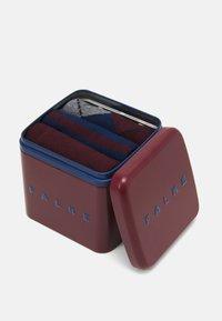 FALKE - HAPPYBOX 3 PACK - Socks - red/blue - 2