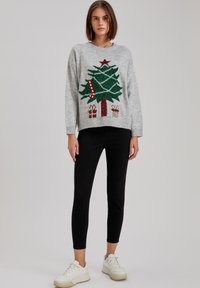 DeFacto - CHRISTMAS JUMPER - Jumper - grey - 1