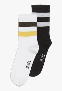 D-XEL - 2 PACK - Sukat - black/white/yellow - 0