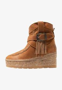 Vidorreta - DAKOTA - Wedge Ankle Boots - camel - 1