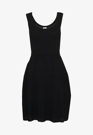SLEEVES DRESS - Jumper dress - black