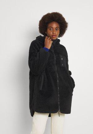 ONLSASCHA SHERPA - Classic coat - black